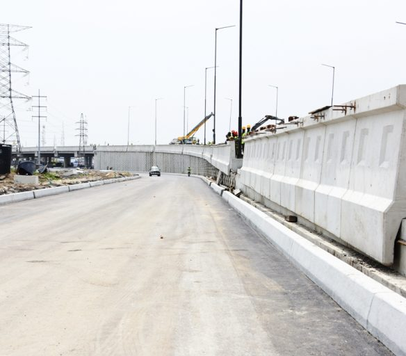 March 2017. Photo Update: Ajah Flyover