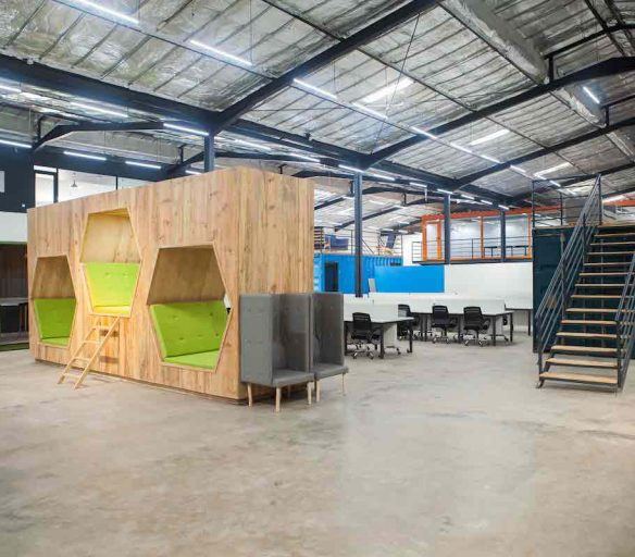 Space Finish take us on a tour of VGG's Innovation Hub - Vibranium Valley