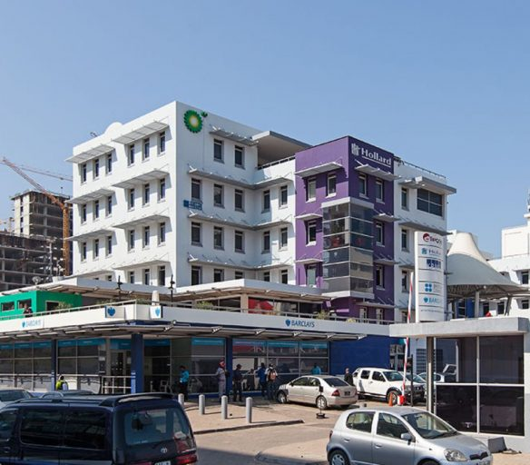 KPMG/Hollard Building in Mozambique owned by GRIT.