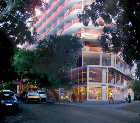 Senegal: Hyatt Centric Dakar (expected to open in Q1 2019). Image Source: lacatonvassal.com