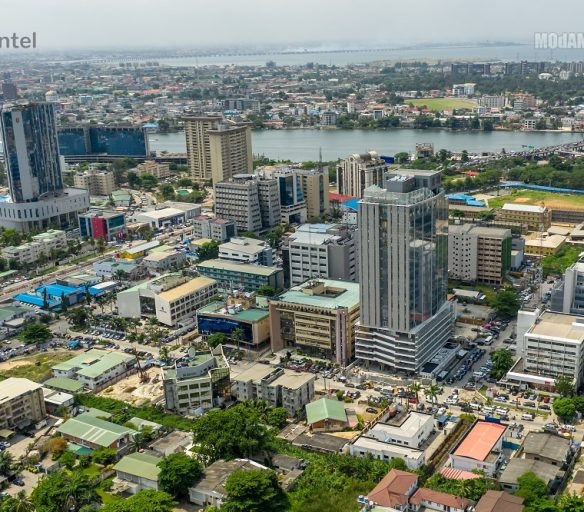 Lagos Skyline. Image Source: MoDAMO