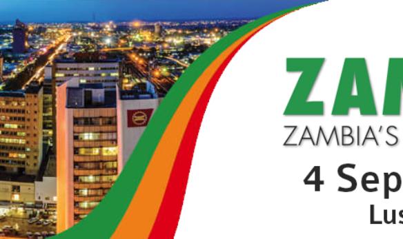ZAMREAL Zambia's Property Forum 2019 graphic design