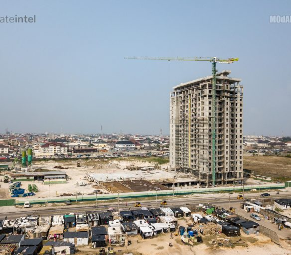 Blue Water apartments in the Okunde Bluewater Zone of Lekki Phase 1.