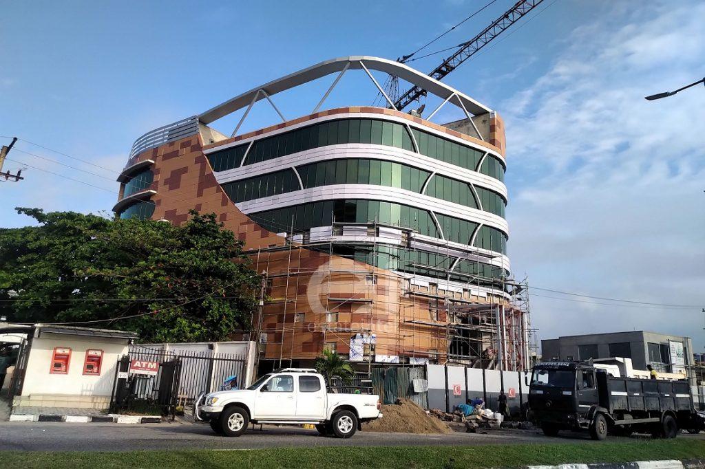 October 2019. Development: White Orchid House, Adetokunbo Ademola Street, Victoria Island - Lagos