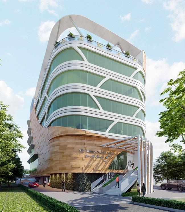 Development: White Orchid House, Adetokunbo Ademola Street, Victoria Island - Lagos. Image Source: CCP