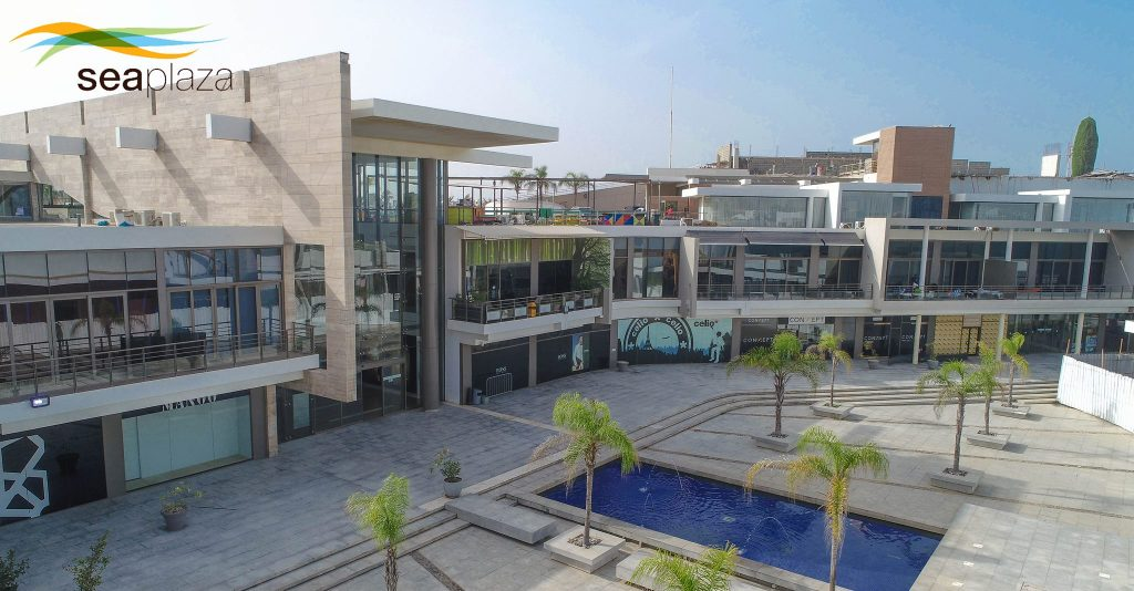Building Obsession: Sea Plaza Shopping Mall and Hotel Complex, Fann, Dakar - Senegal. Image Source: Sea Plaza