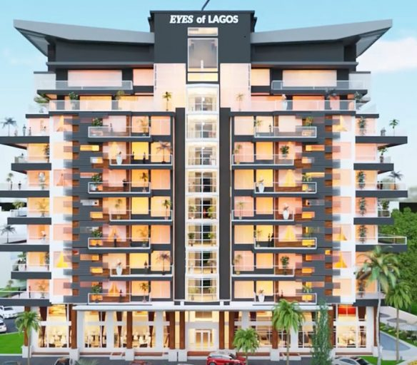 Development: Eyes of Lagos, Corner of Ruxton and Alexander Road, Ikoyi - Lagos