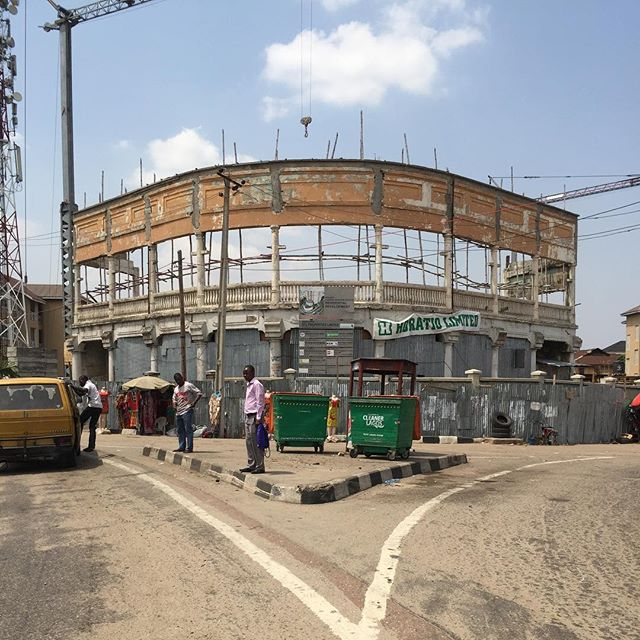 Ongoing Construction Development: Casino Heights, Yaba - Lagos. Image Source: Estate Intel.