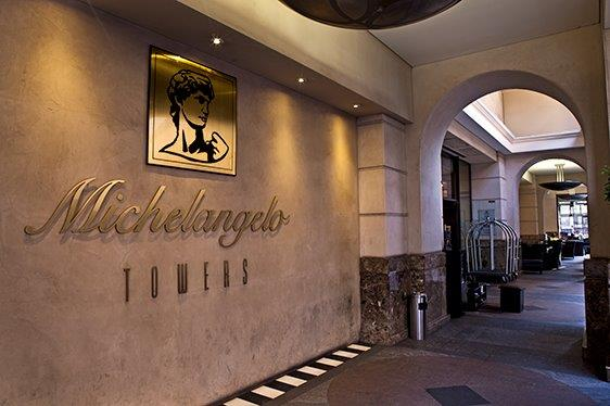 MichelAngelo Tower, Sandton, South Africa.