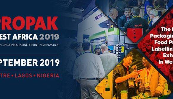 Propak West Africa 2019 event banner