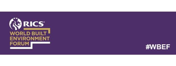 RICS World Built Environment Forum: Webinar   PropTech - What's changed in 12 months