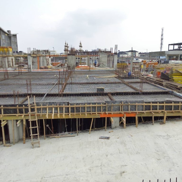 NDIC Lekki Training Building, C & I Leasing Drive, off Bisola Durosinmi Etti Drive, Lekki Phase 1, Lagos - under construction