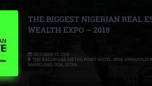 Nigeria Real Estate Wealth Expo Header Image