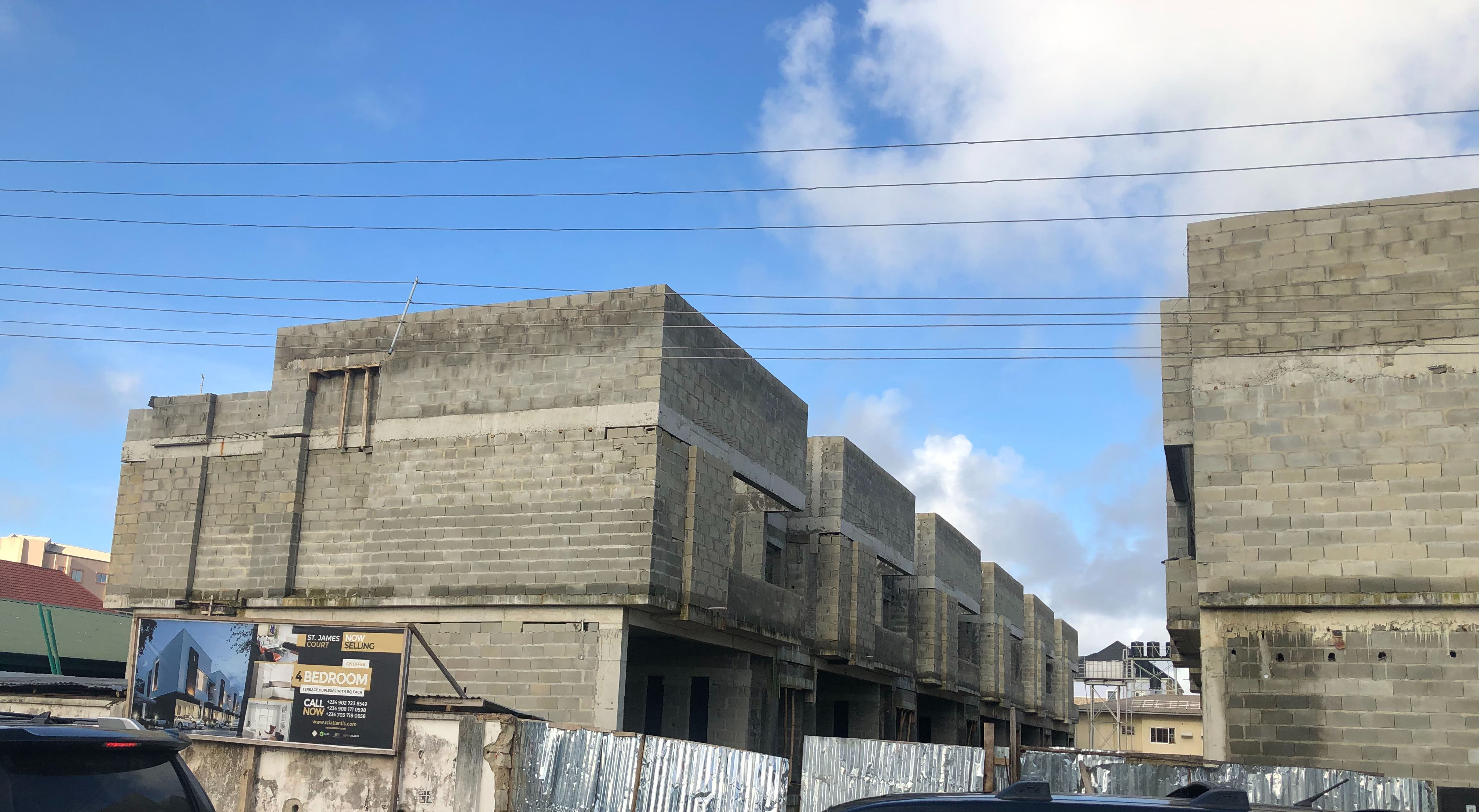 Development: St. James Court, Chief Bamidele Eletu Avenue, Osapa London, Lekki