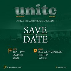 Real Estate Unite Summit (8th Edition), africa's flagship real estate event, event flyer
