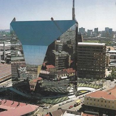 Diamond Building in Johannesburg CBD