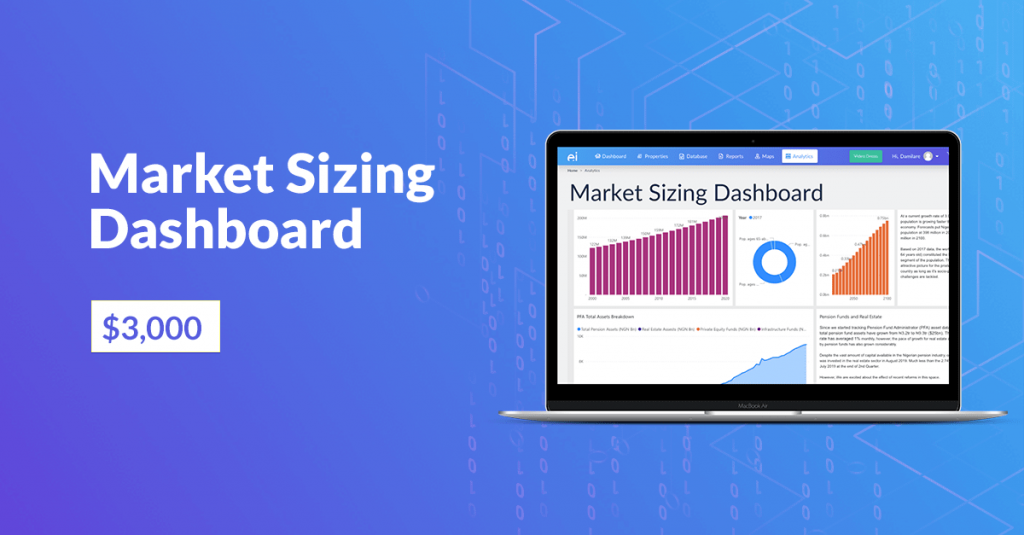 Market Sizing Dashboard costs $3000