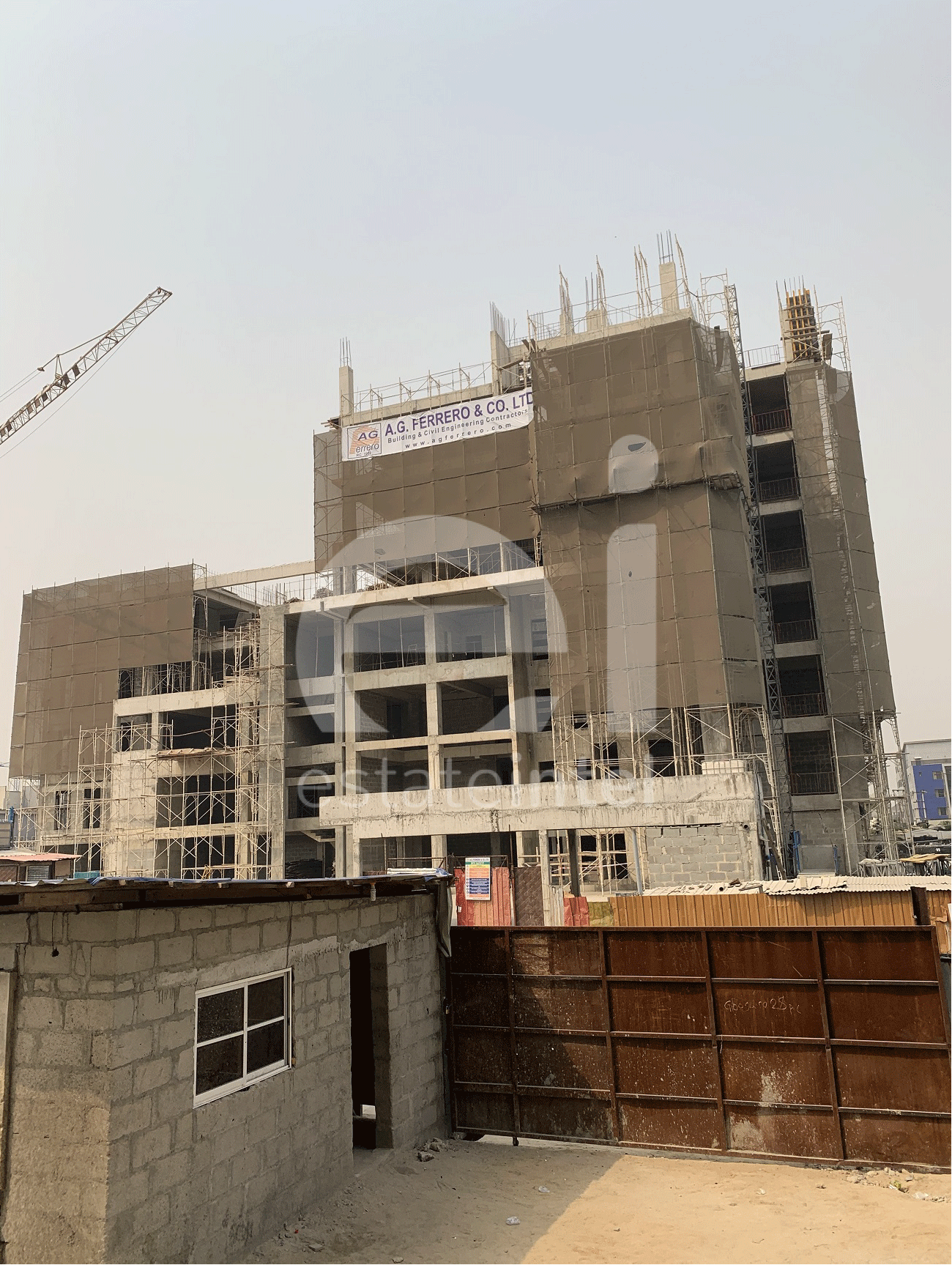 January 2020. Development: NDIC Lekki Training Office Building, Lekki Phase 1 - Lagos