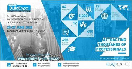 Nigeria BuildExpo 2020 Event Image