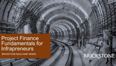 Project Finance Fundamentals for Infrapreneurs Event Image