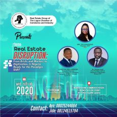Real Estate Disruption by Lagos Chamber of Commerce & Industry event image