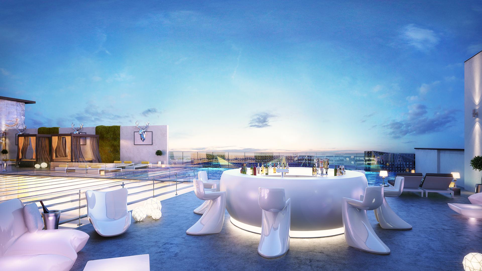 Sky Pool, The Art Hotel, Oniru. Image Source: arthotelng.com