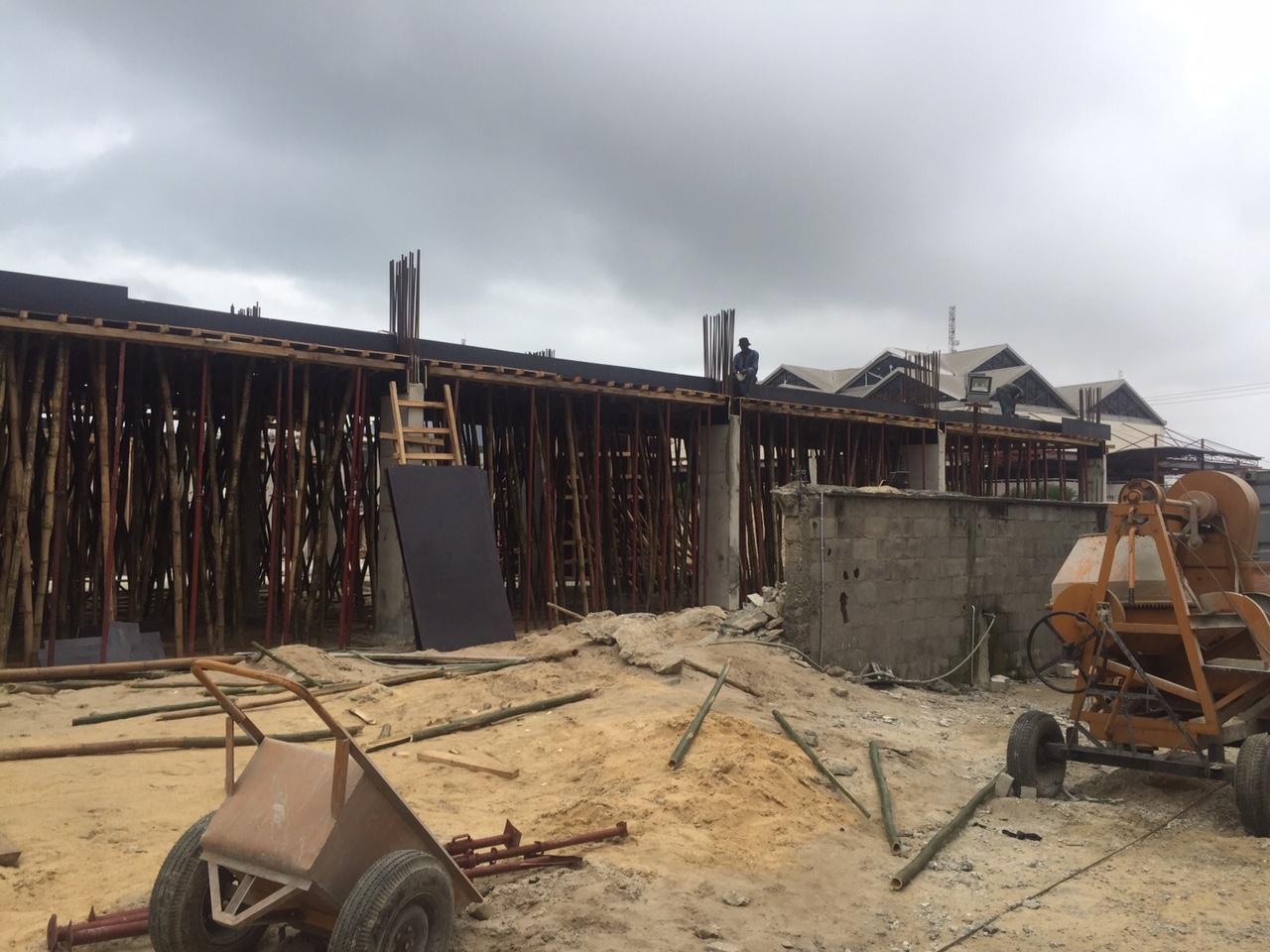 August 2015. Updated - Development: The Art Hotel, Oniru - Lagos