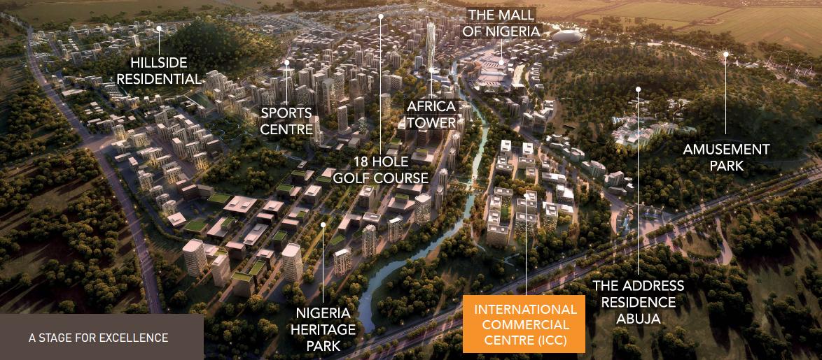 International Commercial Center, Centenary City Abuja. Image source: centenarycity.com