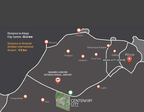 Centenary City Abuja. Image source: centenarycity.com
