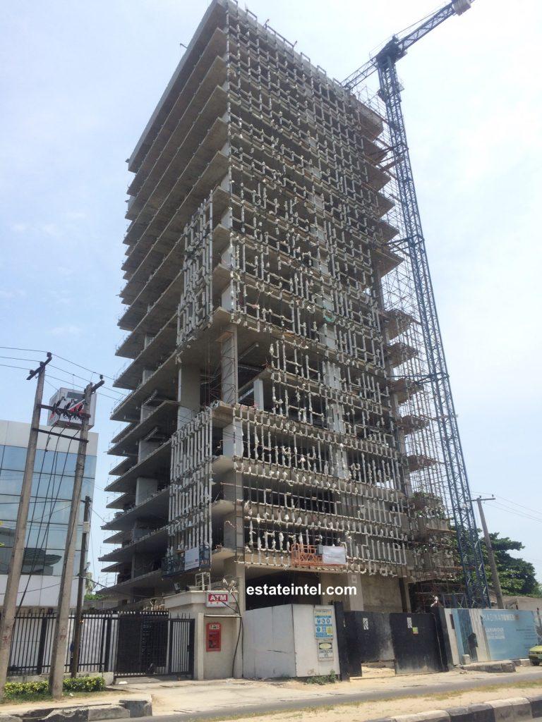 Madina Tower, Victoria Island - Lagos. Image source: estateintel.com. April 2016