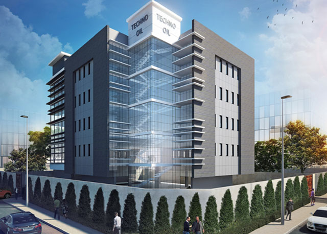 Techno Oil HQ, Victoria Island Annex/Oniru, Lagos. Image Source: El-alan