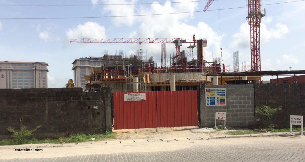 Diamond Bank, High Rise Development, Victoria Island Annex/Oniru. April 2016.