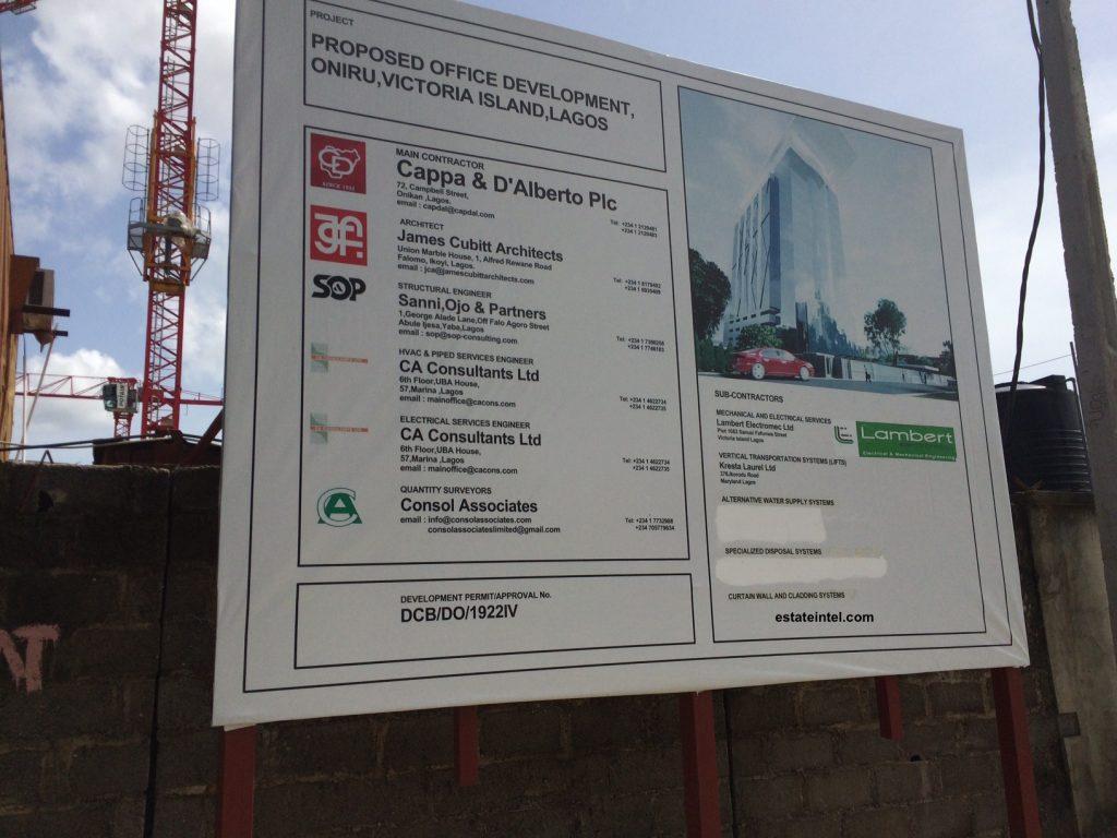 Diamond Bank, High Rise Development, Victoria Island Annex/Oniru.