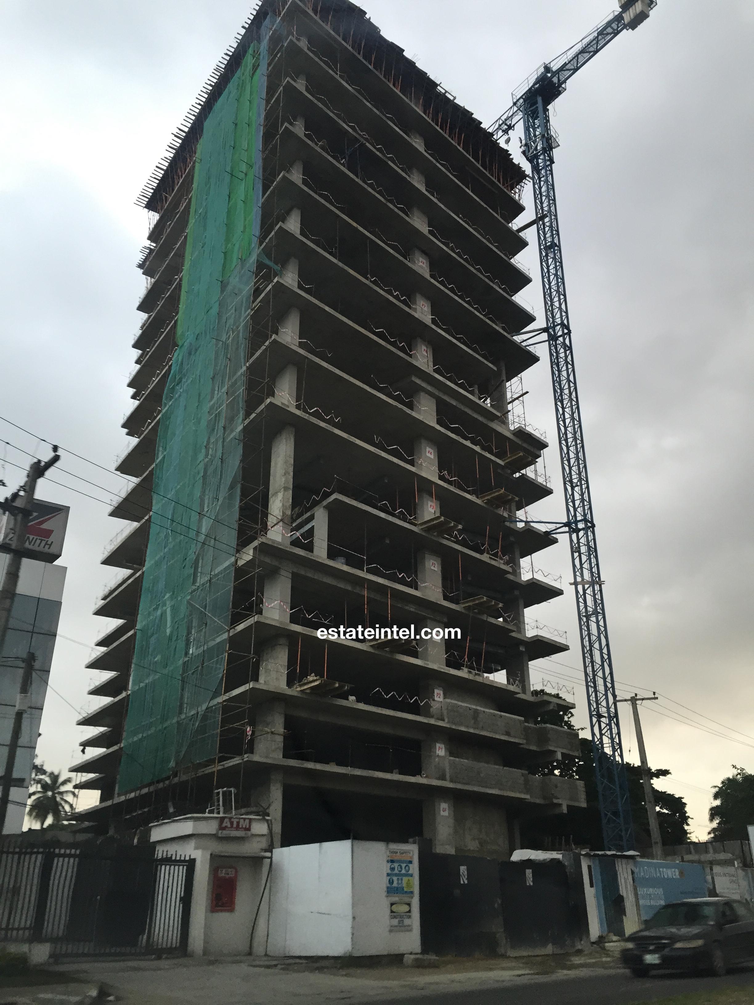 Madina Tower, July 2015