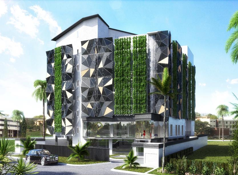 The Art Hotel, Victoria ISland Annex/Oniru. Image Source: Dutum.