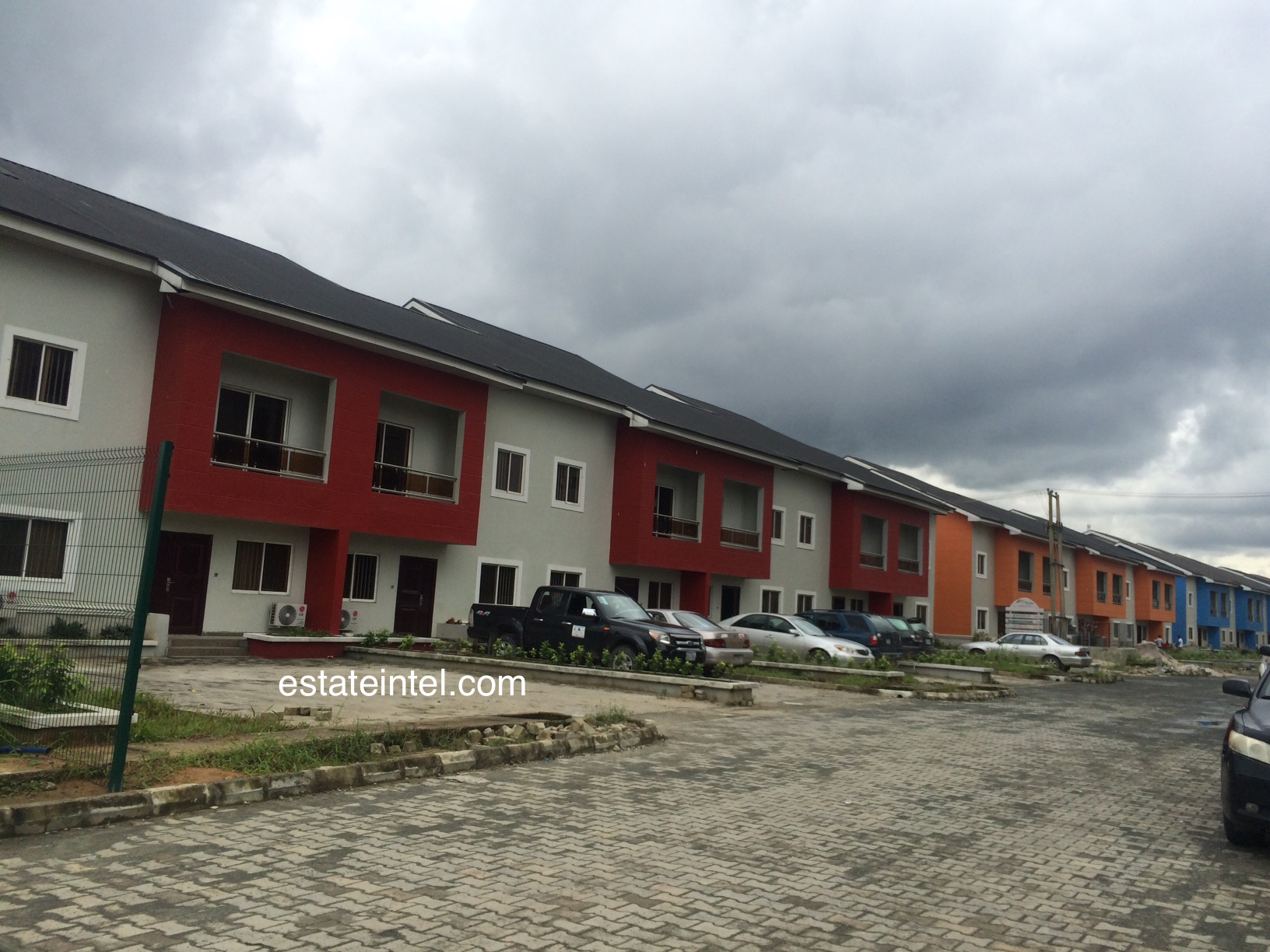 Terraces - Rainbow Town, Port Harcourt. Image Source: estateintel.com