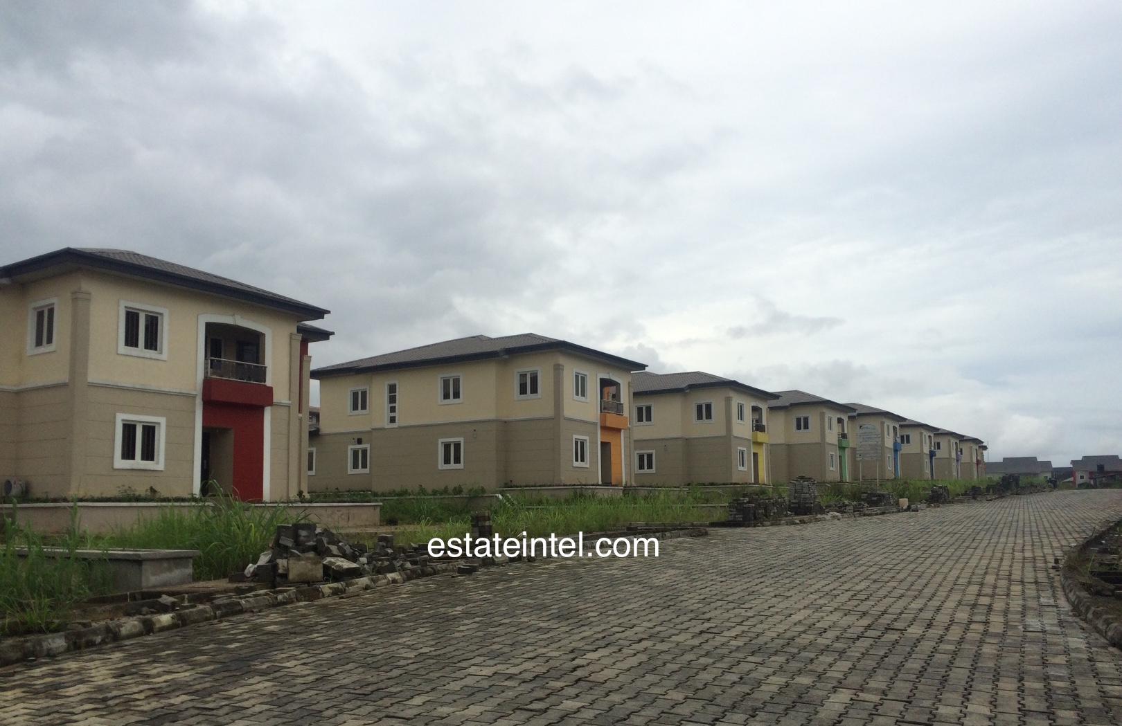 Detached Houses - Rainbow Town, Port Harcourt. Image Source: estateintel.com