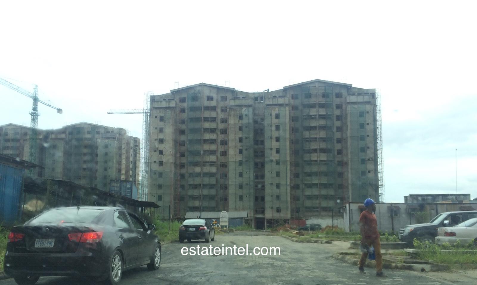City Block Towers - Rainbow Town, Port Harcourt. Image Source: estateintel.com