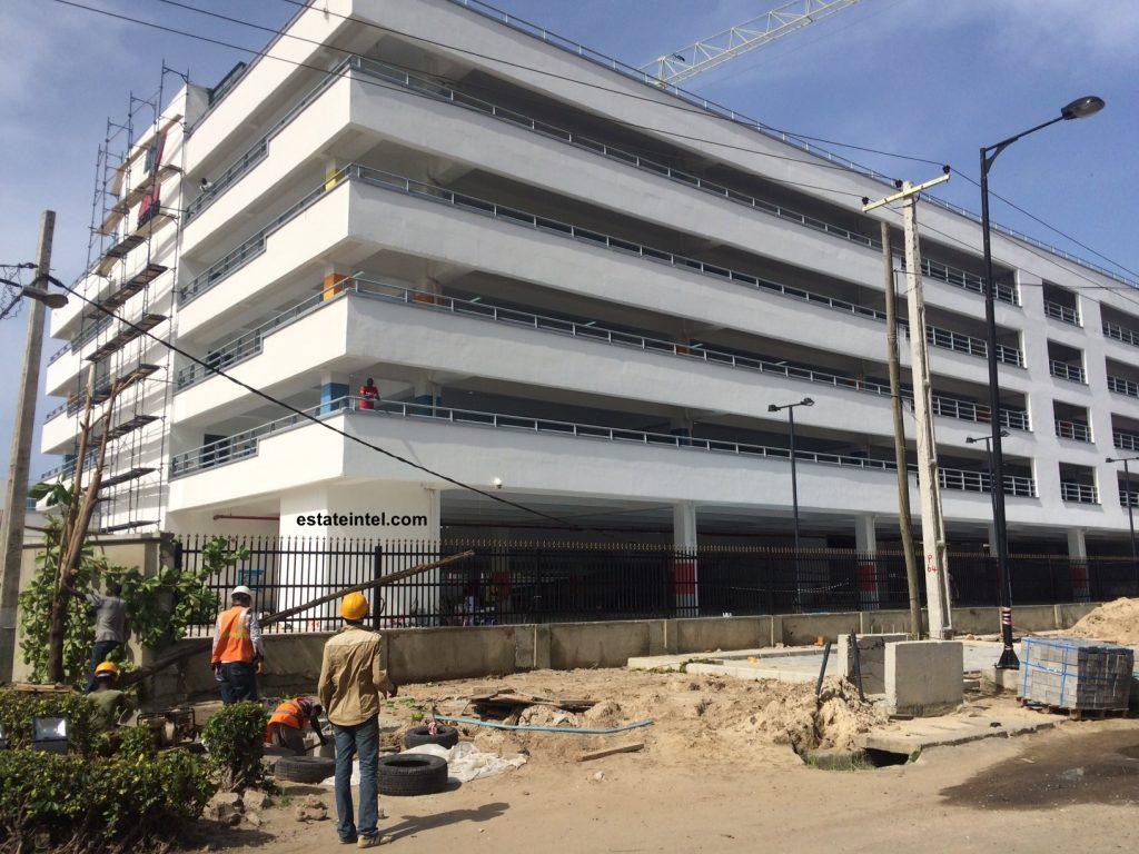 Zenith Multi-Storey Car Park. April 2016.