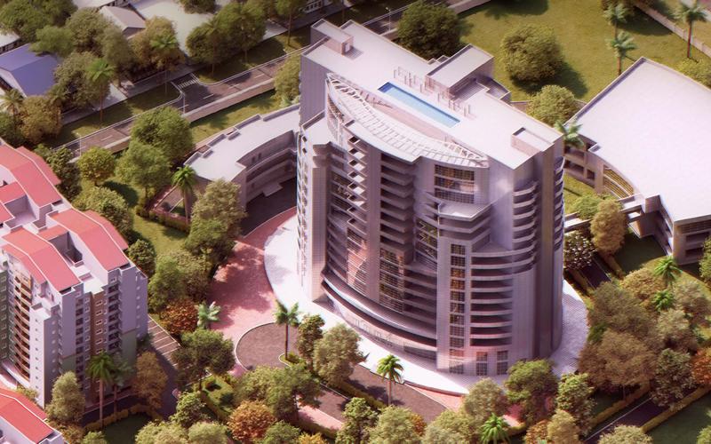 The Iconic Tower - Rainbow Town, Port Harcourt. Image Source: rainboworld-ph.com