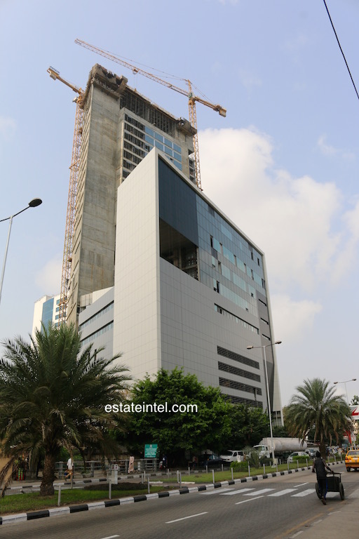 February 2016. Development: Eko Tower II, Victoria Island - Lagos.