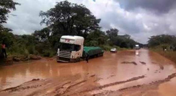 Shoprite Stock en route to Solwezi, Zambia