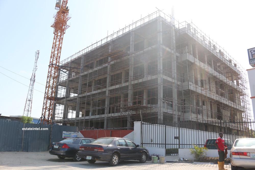 April 2016. Office Development, Lekki Phase 1 - Lagos