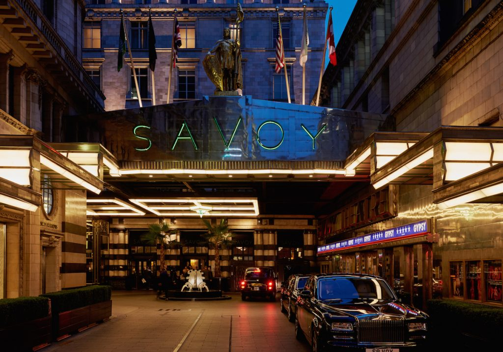 The Savoy, A Fairmont Managed Hotel – London, United Kingdom. Image source: accorhotels-group.com.
