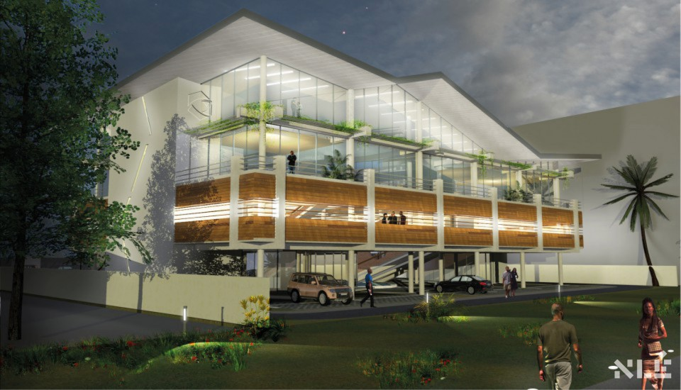 Development: Credit Direct Limited HQ, Isaac John Street, Ikeja GRA - Lagos. Image Source: NLE Works