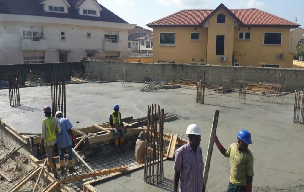Development: 5 Floor Office Project, Admiralty Way - Lekki Phase 1. H1:2016