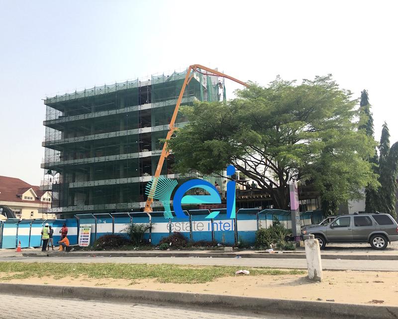 Development: 5 Floor Office Project, Admiralty Way - Lekki Phase 1. March 2017