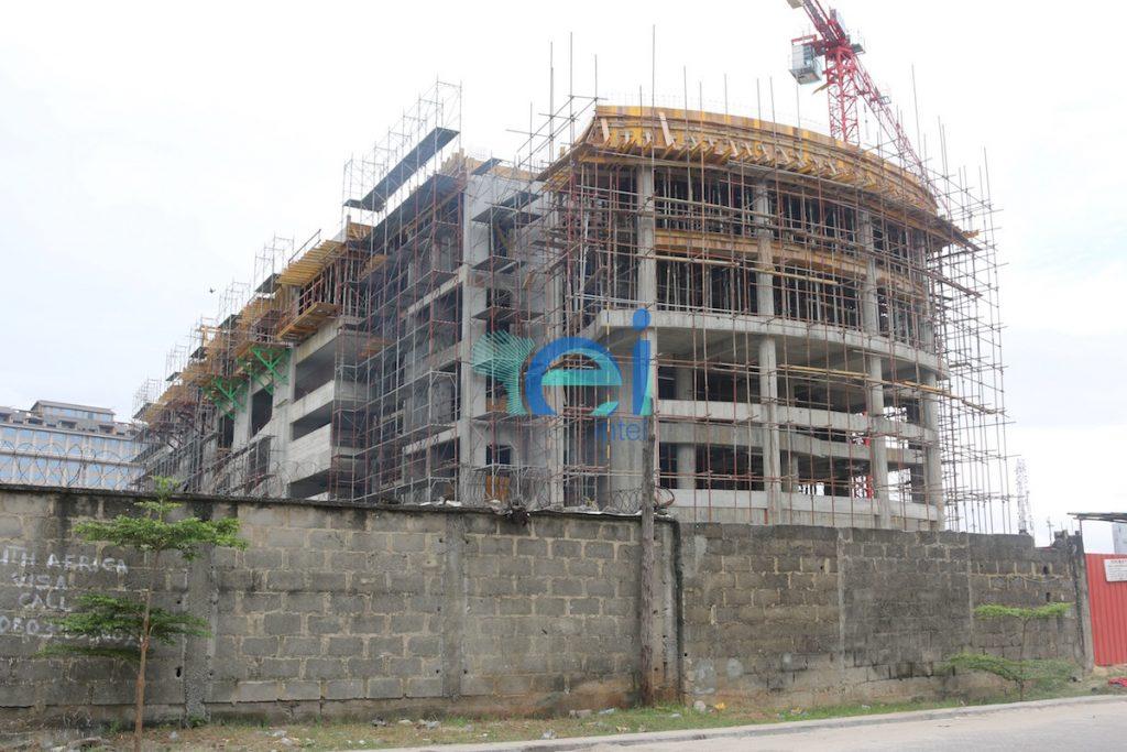 October 2016. Diamond Bank Office Development, Victoria Island Annex (Oniru), Lagos - Nigeria
