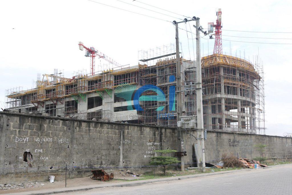 Diamond Bank Office Development, Victoria Island Annex (Oniru), Lagos - Nigeria