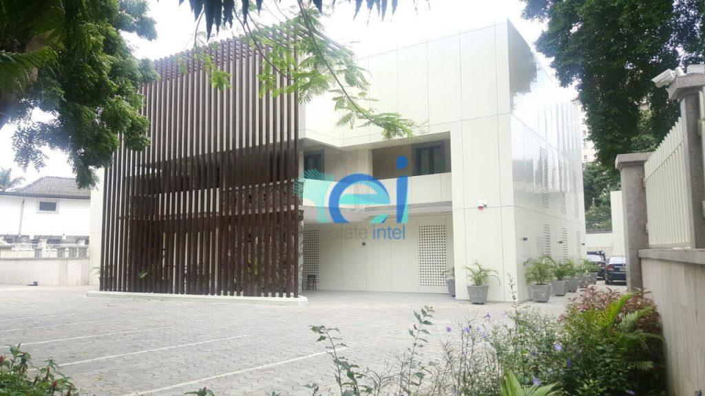 Fidelity Bank Private Bank Office - Ikoyi/Modupe Alakija Crescent Ikoyi. Image Source: Idlewoods Limited.
